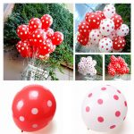 1PCS Colorful Latex Polka Dot Balloon Birthday Party Holiday Decoration