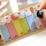 Mini Cartoon Animal Sticker Memo Bookmark Sticky Notes