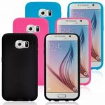 Transparent Flip TPU Dual Protective Case Cover For Samsung Galaxy S6