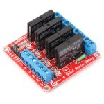 Four way Solid State Relay Module For Arduino