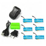 X6A 750mAh Battery With Charger For Syma X5C X5SC Cheerson CX-30S CX30S CX-30 Eachine E5C