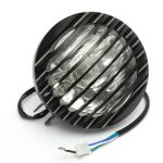 6inch Black Motorcycle Autocycle Autobike Halogen Headlight Light For Harley