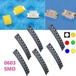 10 pcs 0603 Colorful SMD SMT LED Light Lamp Beads For Strip Lights