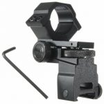 Adjustable Scope Flashlight Laser Mount Elevation Windage