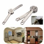 Adjustable Stays Support Toy Box Hinges Lift Up Tool for Kitchen Cupboard Cabinet Door