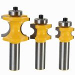 Drillpro RB24 22.2/25.4/35mm 1/2 Inch Shank Carbide Router Bit Woodworking Cutter Engraving Tool