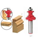 Drillpro RB16 1/2 Inch Round Shank Carbide Router Bit Milling Cutter Engraving Tool