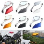 8mm 10mm Universal Motorcycle Rearview Rear View Side Mirrors