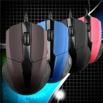 MS-A3 USB Wired 3 Buttons1000DPI Optical Wired Mouse