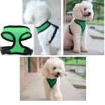 L Pet Dog Mesh Harness Strap Adjustable Safe Control Leash Belt Restraint Vest