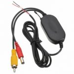 2.4G Wireless RCA Video Transmitter Receiver For Car Backup Camera