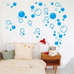 Removable Bubbles DIY Art Wall Decal Home Decor Wall Bathroom Room Stickers