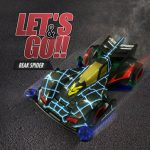 Let's Go Beak Spider Mini DIY 4WD Racing Car