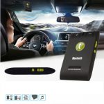 Slim Magnetic Wireless Bluetooth 4.0 Handsfree Car Kit Speaker