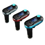 Bluetooth MP3 Player Car Kit With Dual USB Charger FM Transmitter Handsfree USB/SD/AUX-IN