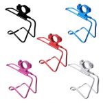 Aluminum Motorcycle Cycling Water Drink Bottle Mount Holder Rack Cage Adapter