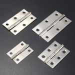 1.5/2/2.5/3 Inch Stainless Steel Cabinet Drawer Door Butt Hinge With Screws