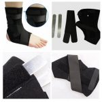Adjustable Fixed Support Ankle Protect Belt Brace Aluminum Strip Foot Exercise