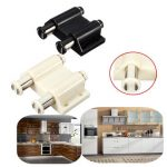 Double Round Head Magnetic Catch Latch for Cabinet Cupboard Kitchen Closet Furniture