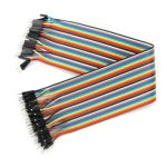 40Pcs 30cm Male To Male Jumper Cable For Arduino