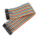 40Pcs 30cm Male To Female Jumper Cable For Arduino
