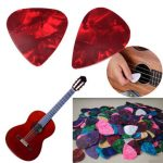 Acoustic Electric Bass Celluloid Guitar Picks Plectrums 0.46mm