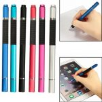 2 in 1 Capacitive Touch Screen Stylus Ballpoint Pen For Tablet Cellphone
