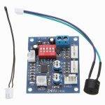 DC 12V Four Wire Thermostat PWM Fan Speed Controller Module
