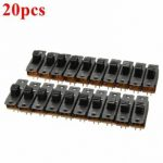 20pcs Black Mini Two Way SPDT 2P2T Slide Switch On-Off PCB DIY