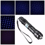 405nm 5mw All Star Purple Light Laser Pointer Pen with Star Cap