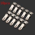 10 pcs Boxes Case Closure Hasp Button Nose Box Toggle Latch Duck Mouth Buckle Spring Clasp Lock