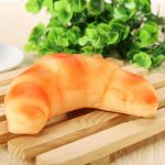 12 5 3.5CM Squishy Simulation Bread Croissant Slow Rising Squishy Fun Toys Decoration