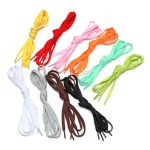 1 Pair Of Colorful Shoelaces Athletic Shoes Shoelaces