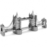 Aipin DIY 3D Puzzle Stainless Steel Model Kit Tower Bridge