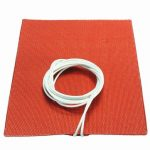 15cm x 20cm 300W 120V Universal Silicone Tank Insulation Heating Pad Engine Oil Pan Heater