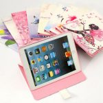 Cute Magnetic PU Leather Stand Smart Case Back Cover For iPad Air 1 2
