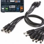 5Way 9V Guitar Effects Pedal Daisy Chain Power Supply Adapter Splitter Cable