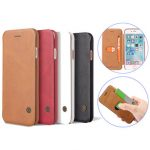 Premium PU Leather Flip Cover Wallet Card Holder Case For iPhone 7 Plus