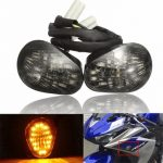 Motorcycle LED Running Turn Signal Lights Flush Mount for Yamaha YZF R6 2008-2016