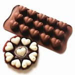 Heart Chocolate Cake Cookie Muffin Candy Jelly Ice Baking Silicone Mould Mold