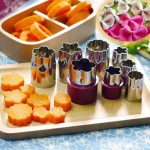Stainless Steel DIY Biscuit Egg Cake Mold Sets Fruits Vegetables Cutter Multifunction Kitchen Tools
