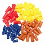 70Pcs Electrical Wire Twist Nut Connector Terminals Cap Spring Insert Assortment