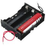 3×18650 Batteries Stylus AA Battery Holder Battery Case Container Box