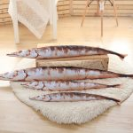Creative Cute Cartoon Soft Lovely Simulation 3D Saury Shaped Pillow Kids Plush Gift Cushion