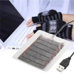DC 5V 2.5W USB Heating Plate Warmer For Gloves Mouse Pad