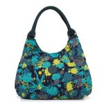 Women Flower Lightweight Hobo Tote Bags Casual Shoulder Bags Capacity Shopping Bags Crossbody Bags