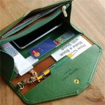 Universal PU Leather Large Capacity Card Slot Stylus Purse Clutch Wallet for Phone Under 5.5-inch
