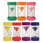 New 15 Minutes Plastic Frame Sand Glass Sandglass Hourglass Timer Clock Decor