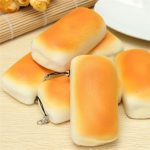 Jumbo Squishy Bread Toy Soft Buns Scented Phone Strap Charms Slow Raising