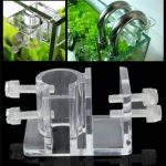 Acrylic Aquarium Hose Fixing Clip Water Pipe Fixing Tube Holder Clamp Fish Tank Tube Fixing Clip